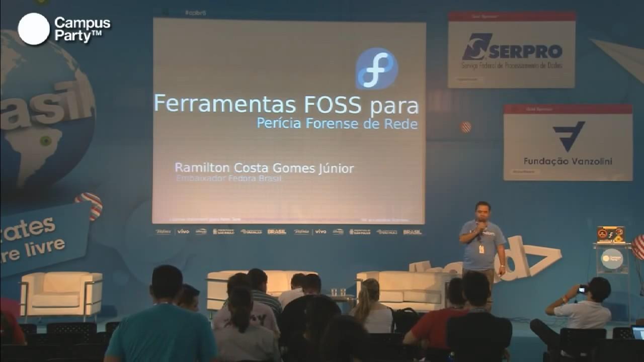 Image from Ferramentas FOSS para perícia forense de rede