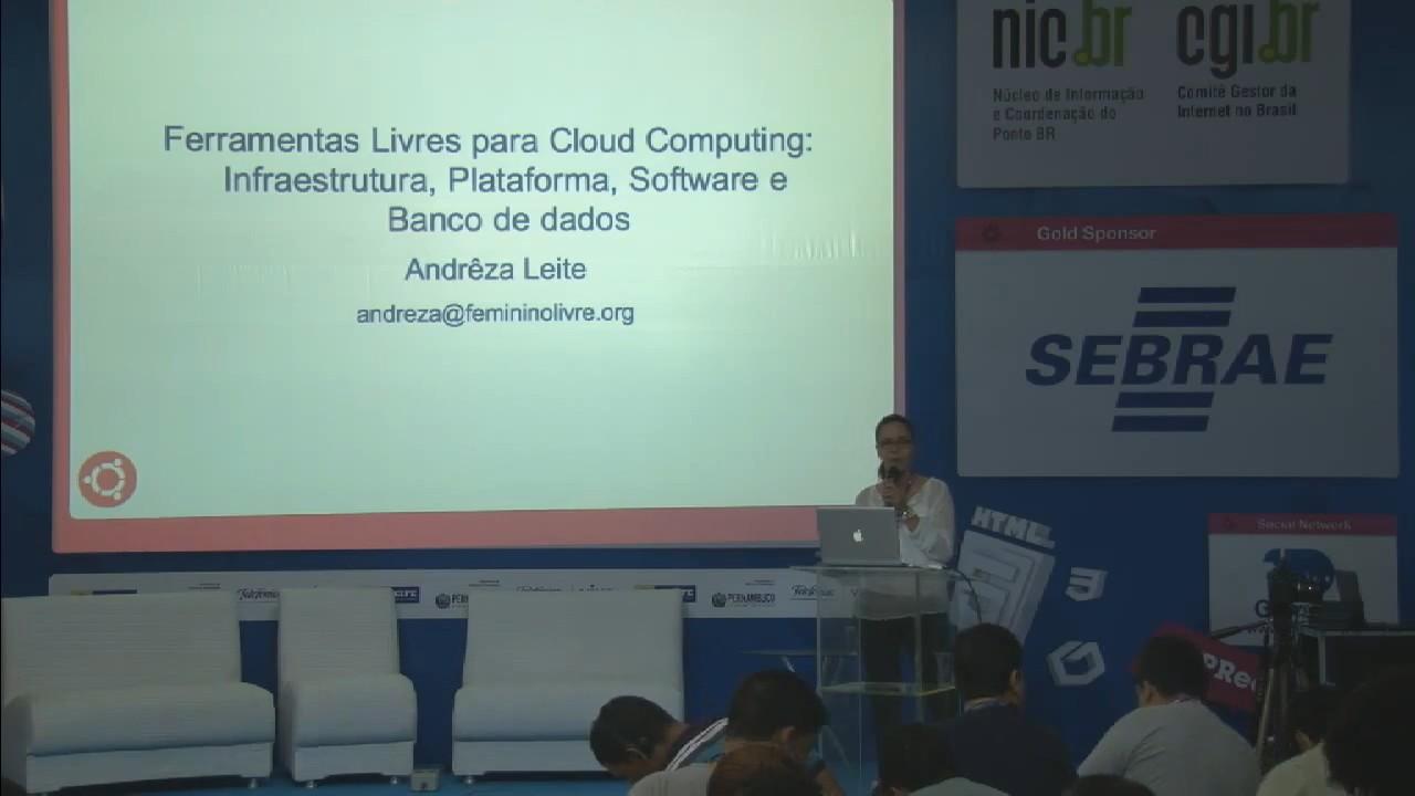 Image from Ferramentas Livres para Cloud Computing: infraestrutura, plataforma, software e banco de dados