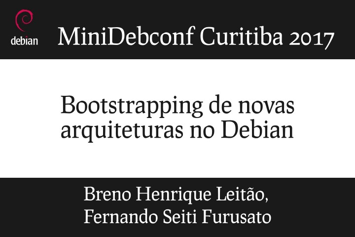 Image from Bootstrapping de novas arquiteturas no Debian