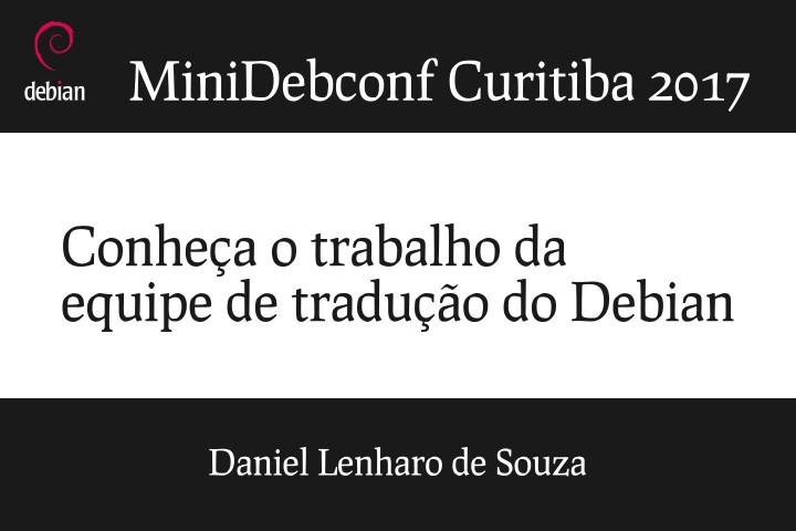 Image from Conheça o trabalho da equipe de tradução do Debian