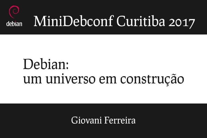 Image from Debian: um universo em construção
