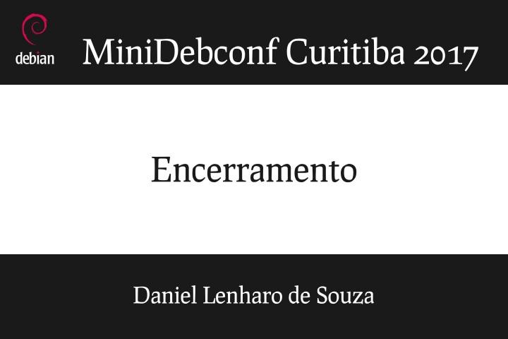 Image from Encerramento da MiniDebConf Curitiba 2017