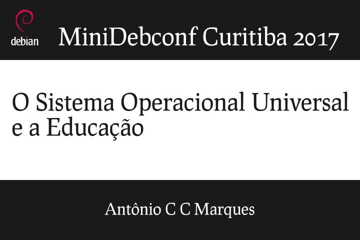 Image from O sistema operacional universal e a educação