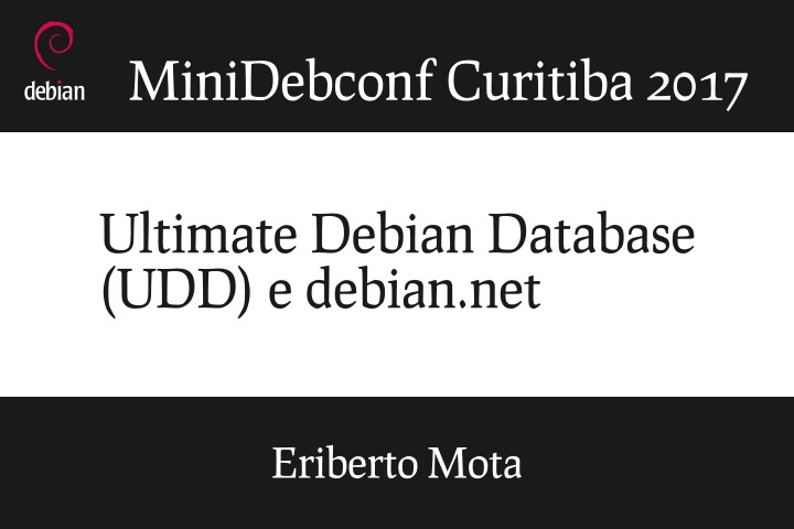 Image from Ultimate Debian Database (UDD) e debian.net