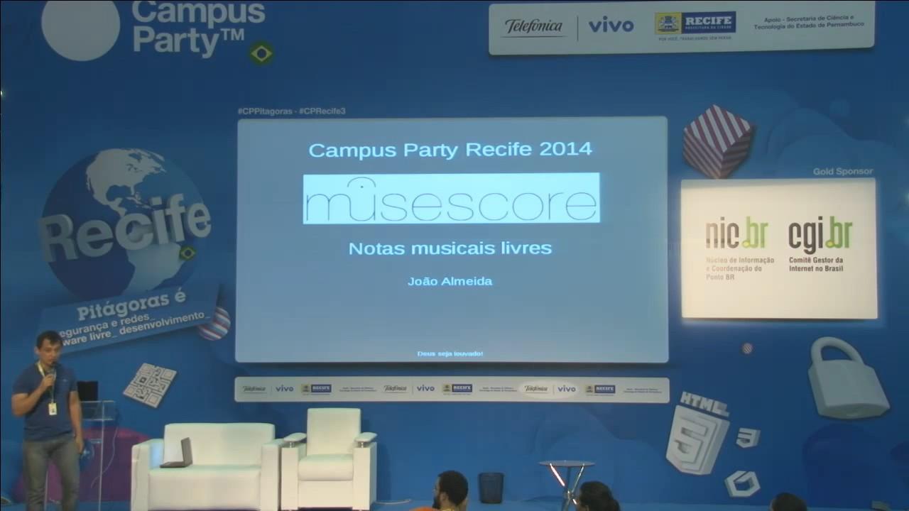 Image from Notas musicais com Software Livre