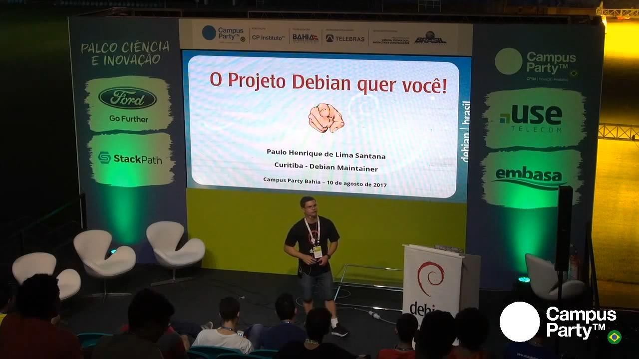 Image from O Projeto Debian quer você!